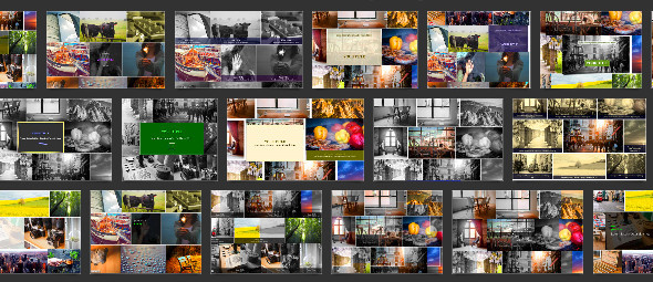 34 artistic templates for masonry grid (inage gallery)